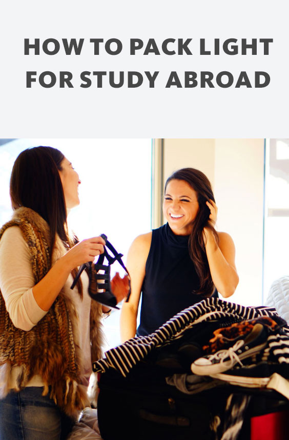 Get packing tips and travel advice for study abroad. With a little strategy, you can fit every necessity for life abroad into a single suitcase.