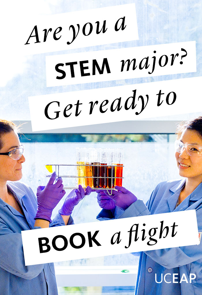Are you a STEM major? Get ready to book a flight