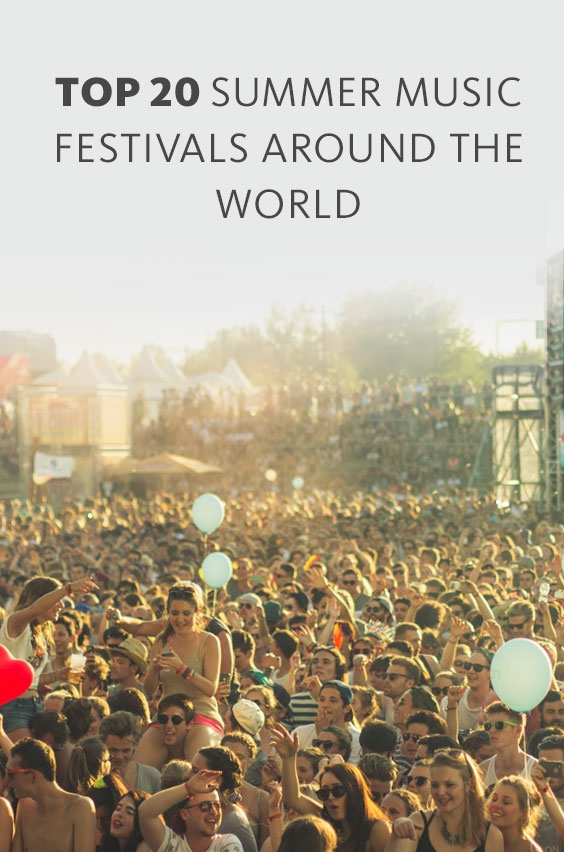 One of the perks of studying abroad during the summer is all the music events! Here are some of the best music festivals near UCEAP locations worldwide.