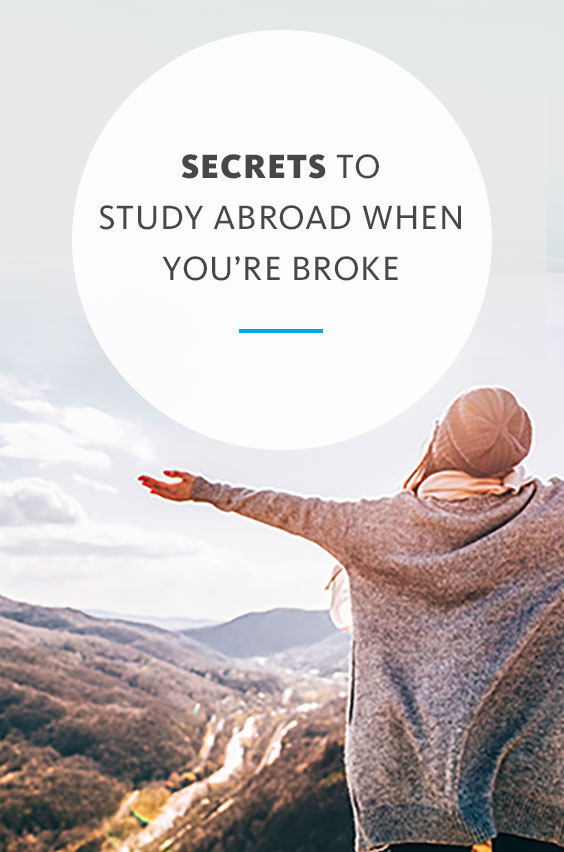 Be a budget guru! Learn how you can travel cheap, get discounts and lower the cost of study abroad. Just a few simple hacks can save you money.