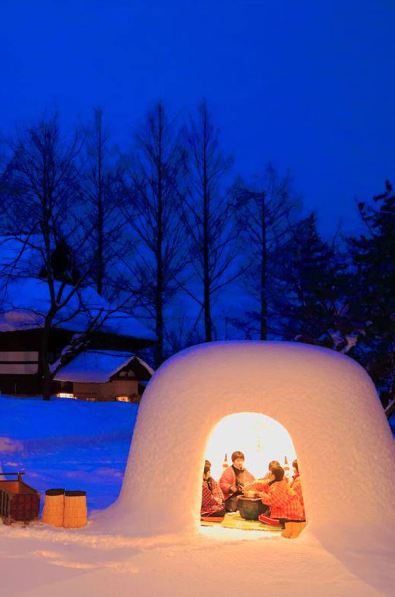 20. Chill in an igloo at the Kamakura Festival in Japan. Pay tribute to water deities at the Yokote snow festival. Sip sweet rice wine inside a glowing Japanese igloo and see hundreds of snow sculptures. Add this to your bucket list now, and see a full list of adventures for students.