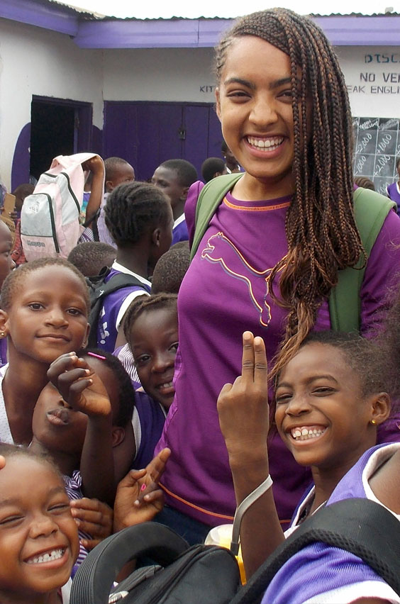 16. Volunteer to teach children in Africa. Where can you earn smiles of gratitude and accomplishment like these? At an after-school program for children displaced from their homeland. Just one of the epic opportunities available on study abroad.