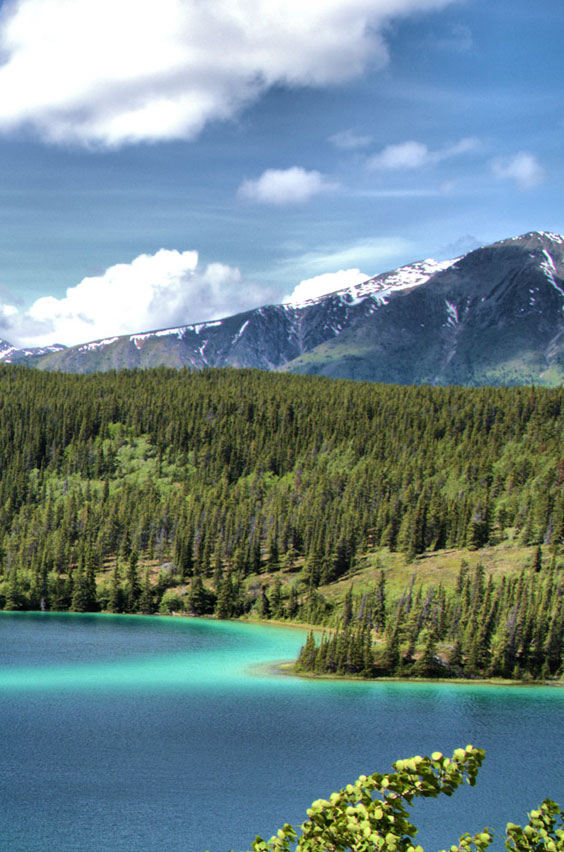 12. Camp at Emerald Lake in Canada's Rocky Mountains. Glacial silt turns a deep emerald green as the water in this lake warms in early summer. This is just one of the epic adventures available to you when you study abroad.