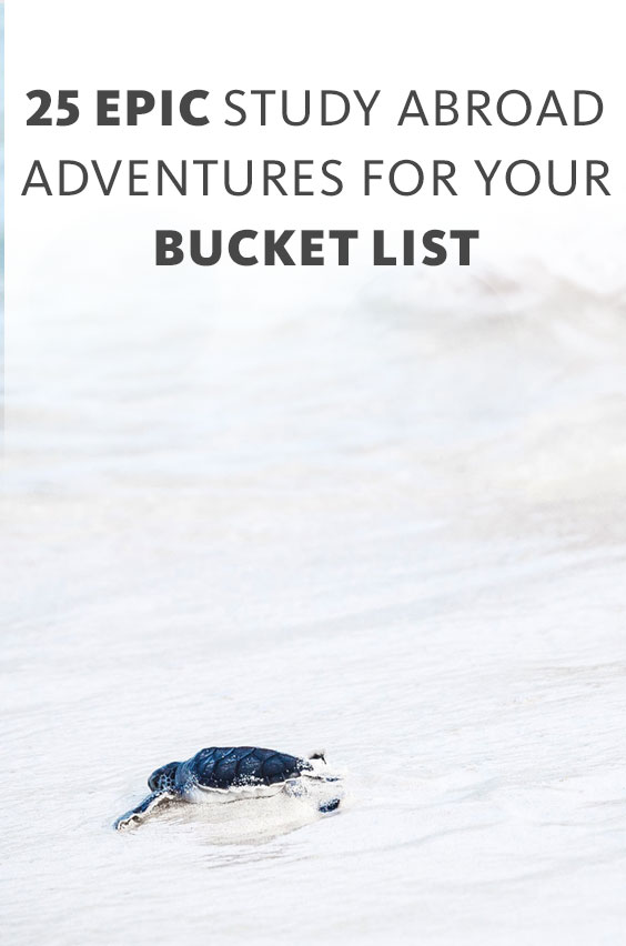 Every year do something you've never done before; go somewhere you've never been and experience something you'll remember forever. See our list of epic bucket list adventures.