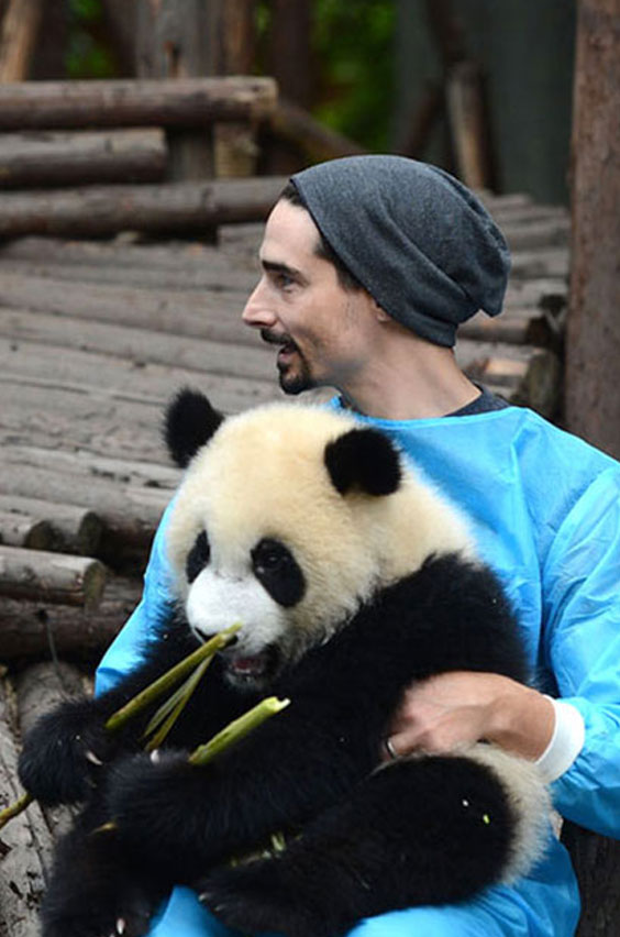 25. Hold a baby panda in China. Snuggle with a baby panda for two minutes. Life altered forever. Check out this amazing opportunity for your bucket list.