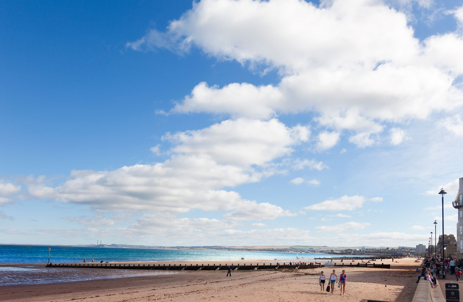 View of Portobello Beach