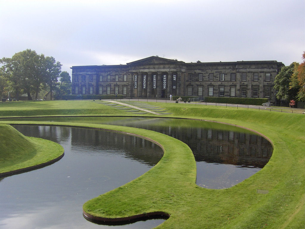 Image of The Scottish National Gallery of Modern Art and grounds