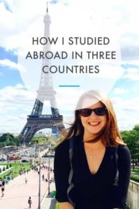 How I studied Abroad In Three Countries