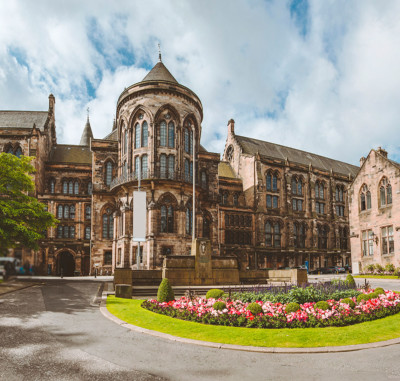 University of Glasgow in the summer