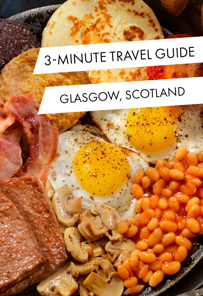 Full traditional Scottish breakfast with potato 'tattie' scones.