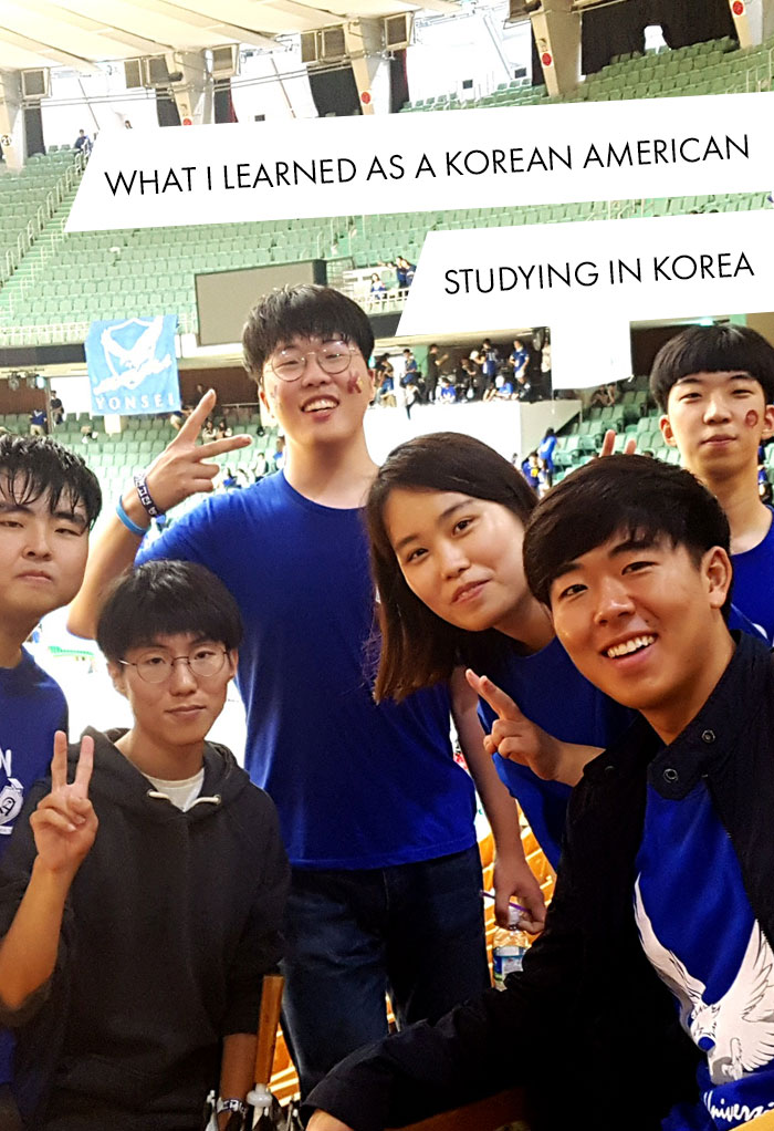 Brandon Yoon attends a sports festival with local students.