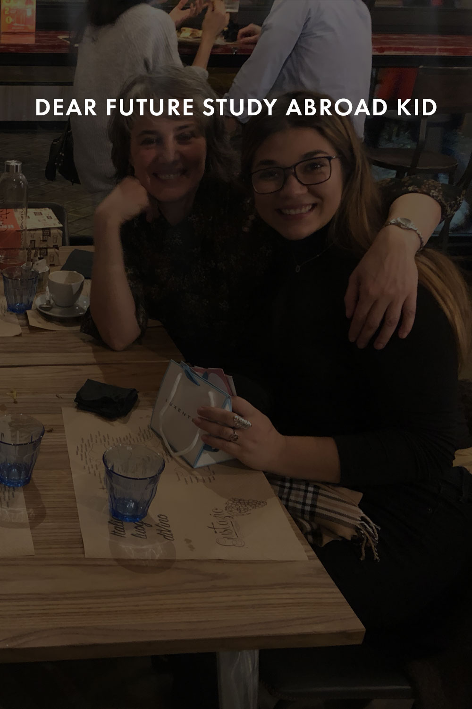 Elena Mateus enjoys a meal with friends.